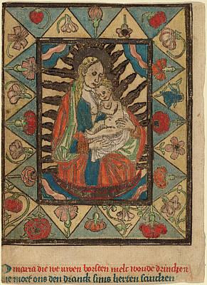 Netherlandish 15th Century, The Madonna And Child Poster