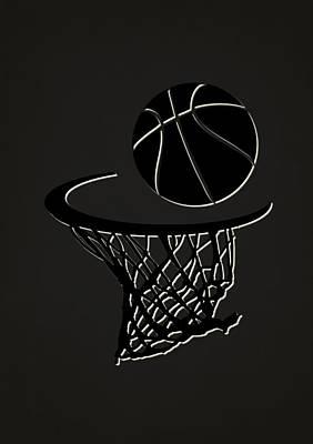 Nets Team Hoop2 Poster