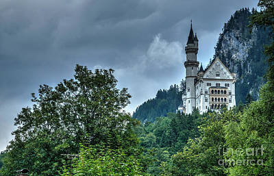 Poster featuring the photograph Neuschwanstein Castle by Joe  Ng