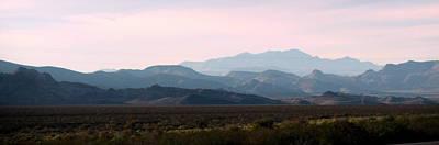 Nevada Sunset Poster by Kay Novy