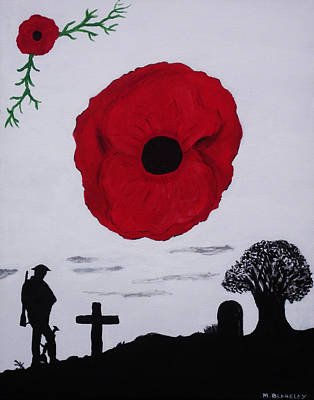 Never Forgotten Poster by Martin Blakeley