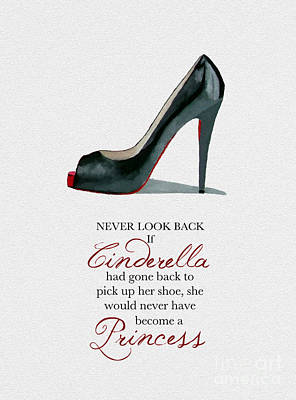 Never Look Back Poster by Rebecca Jenkins