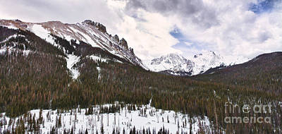 Never Summer Wilderness Area Panorama Poster