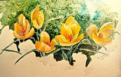New Beginnings Poster by Carolyn Rosenberger