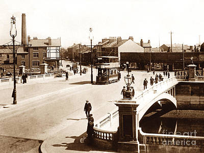 New Bridge Warrington England Poster