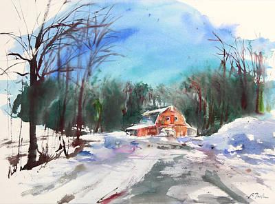 New England Landscape No.217 Poster