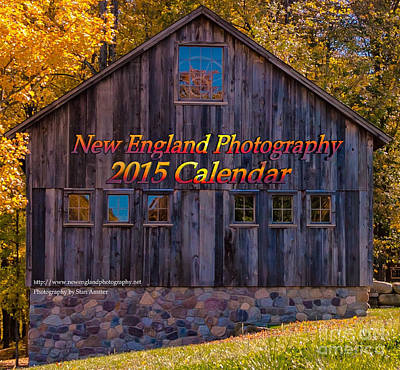 New England Photography 2015 Calendar. Poster