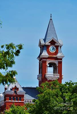 New Hanover County Courthouse Bell Tower Poster by Bob Sample