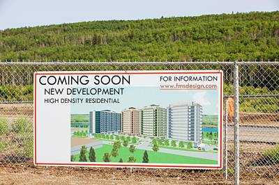 New Houses Being Built Poster