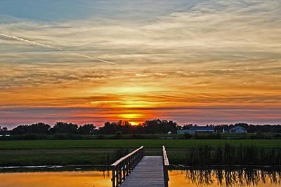 New Jersey Summer Sunset Poster