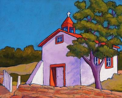New Mexico Church Poster by Candy Mayer