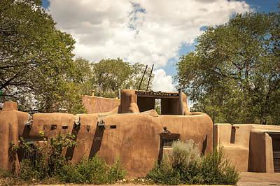 New Mexico Facade # 3 Poster