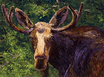 Loose Moose Poster