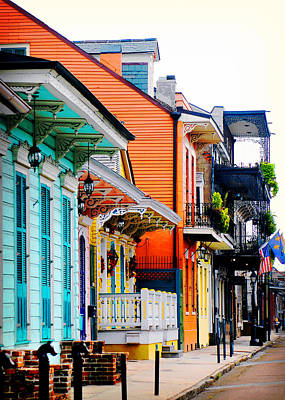 New Orleans Living Poster