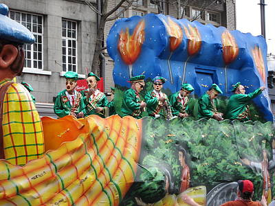New Orleans - Mardi Gras Parades - 1212128 Poster by DC Photographer