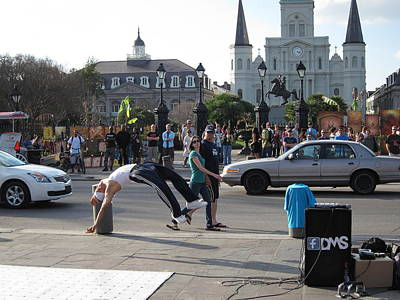 New Orleans - Street Performers - 121215 Poster by DC Photographer