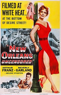 New Orleans Uncensored, Us Poster, Top Poster by Everett