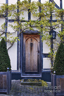 New Photographic Art Print For Sale Doorway 2 In Medieval Lavenham Poster
