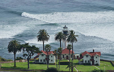 New Point Loma Lighthouse Poster by See My  Photos