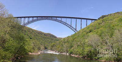 New River Gorge Bridge 2 Poster by Teresa Mucha
