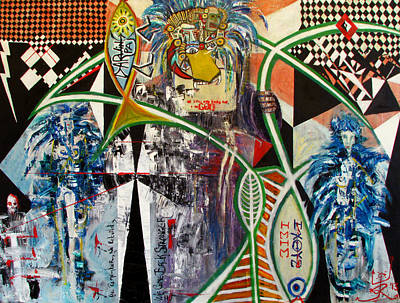 New World Hierophant Poster by Jonathan E Raddatz