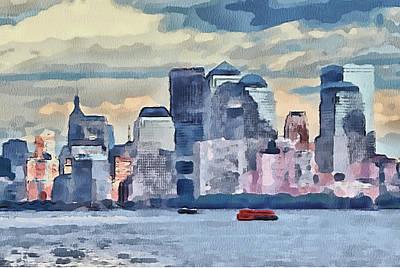 New York 7 Poster by Yury Malkov