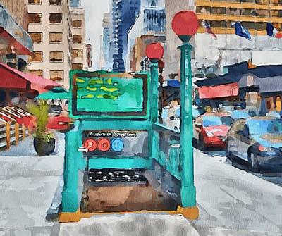 New York 8 Poster by Yury Malkov
