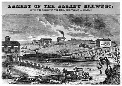 New York Brewers, C1840 Poster