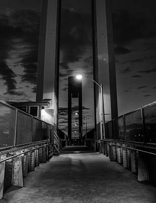 New York Bridge Poster by Georgina Gomez