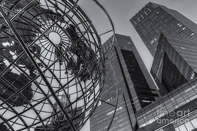 New York City Columbus Circle Landmarks II Poster