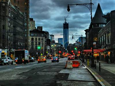 New York City - Greenwich Village 014 Poster by Lance Vaughn