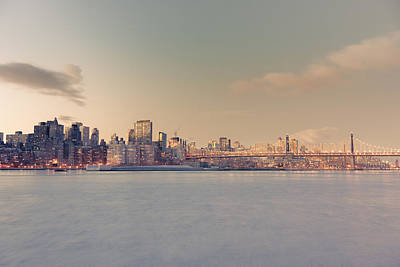 New York City - Skyline Dreamscape Poster
