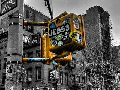 New York City - Soho 004 Poster by Lance Vaughn