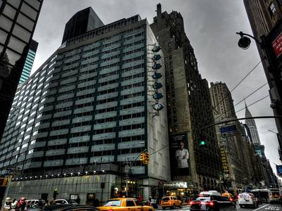 New York City - The Doubltree Metropolitan 001 Poster by Lance Vaughn