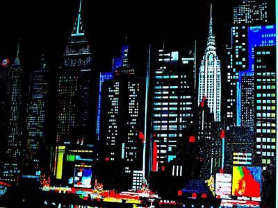 New York City  Poster by Tony Bernabeo
