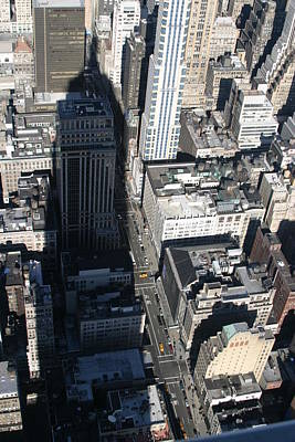 New York City - View From Empire State Building - 121213 Poster by DC Photographer