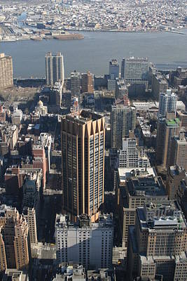 New York City - View From Empire State Building - 121214 Poster by DC Photographer