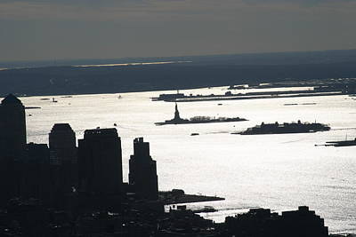 New York City - View From Empire State Building - 121227 Poster by DC Photographer