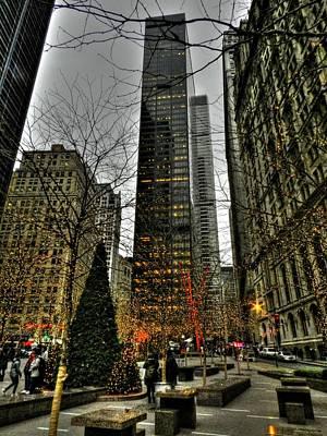 New York City - Zuccotti Park 001 Poster by Lance Vaughn