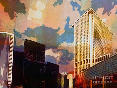 New York Colors Poster by Lutz Baar