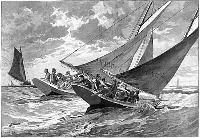 New York Fishing, 1889 Poster by Granger