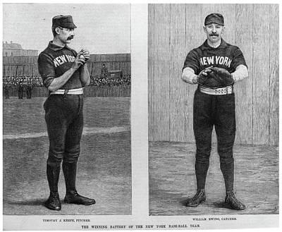 New York Giants, 1888 Poster