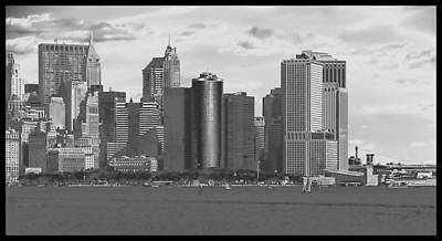 New York Harbor Poster by Dan Sproul