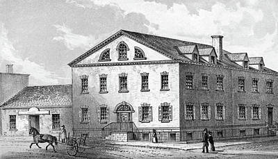 New York House, 1840 Poster