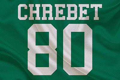 New York Jets Wayne Chrebet Poster