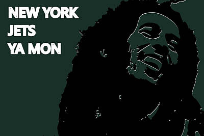 New York Jets Ya Mon Poster