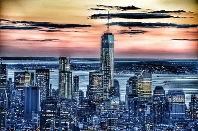 New York - Manhattan Landscape Poster by Marianna Mills