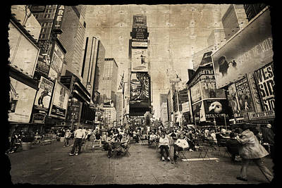 New York New York Poster by Barbara Manis