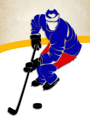 New York Rangers Rink Poster by Joe Hamilton