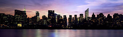 New York Skyline Poster by Aged Pixel